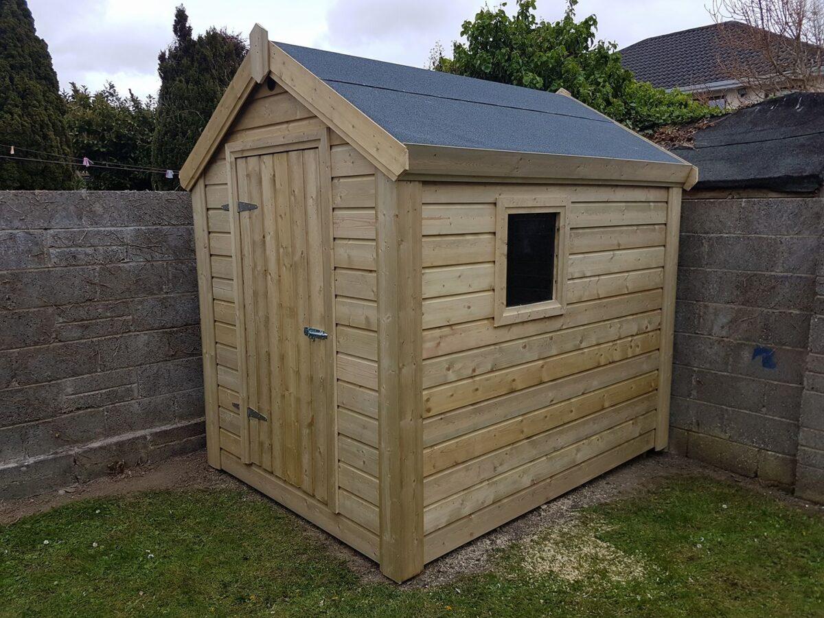 Garden Shed Installation