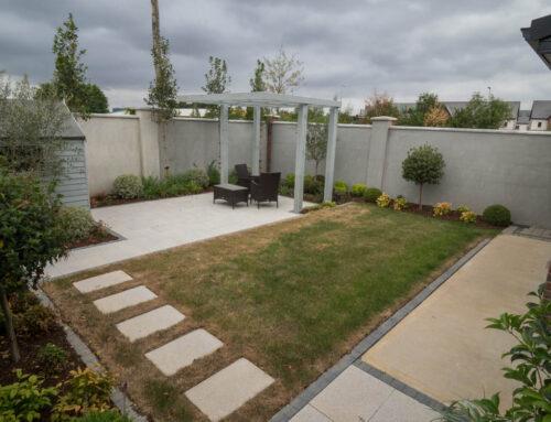 Paved Garden Patio